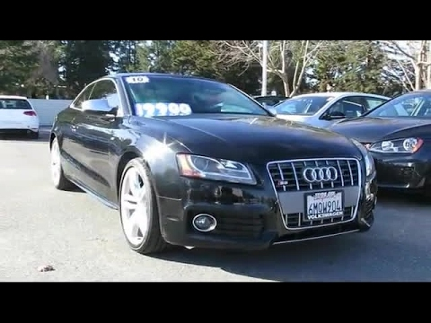 2010 Audi S5 Premium Plus San Jose  Sunnyvale  Hayward  Redwood City  Cupertino