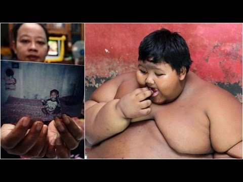 World's heaviest child put on crash diet over health fears