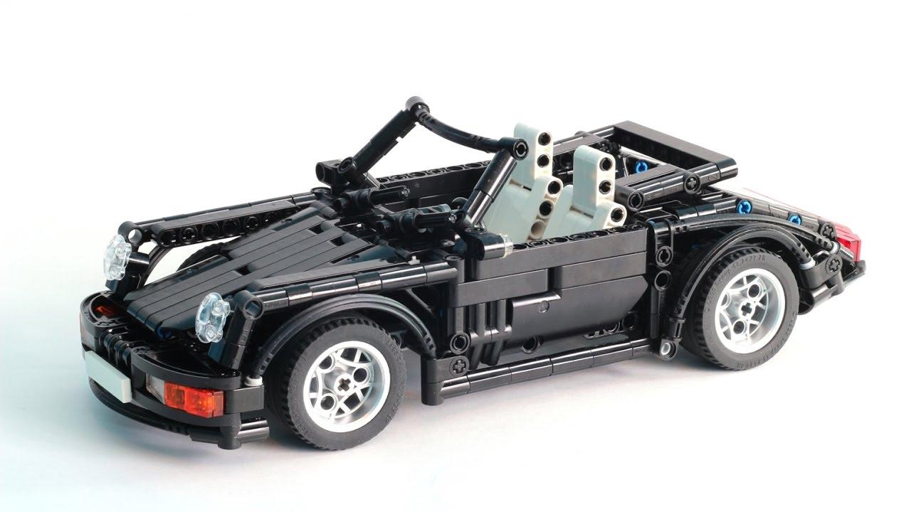 lego technic porsche 964 911 cabriolet v2 youtube. Black Bedroom Furniture Sets. Home Design Ideas