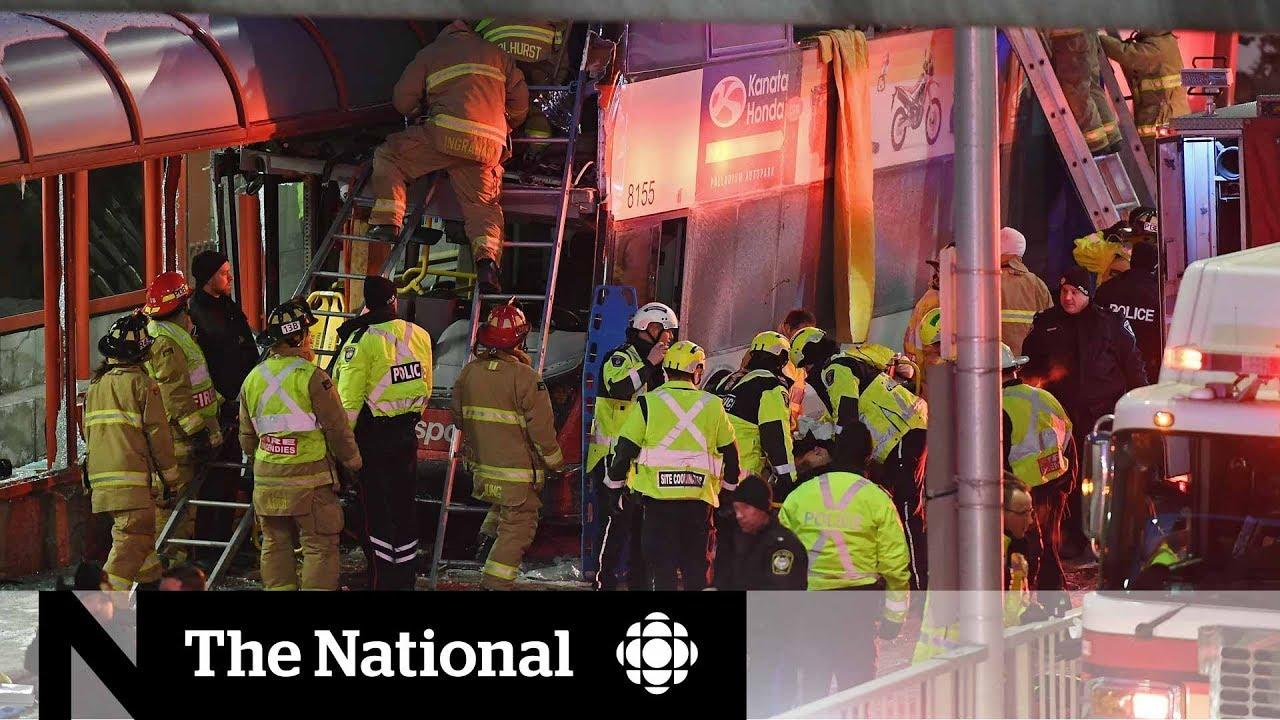 'Chaos' following deadly bus crash at Ottawa transit station #1