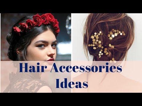 Hair Accessories Ideas - 100+ Hair Accessories, Flowers, DIY Ideas