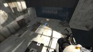 [portal 2] Speedrun Of Ricochet In 24.78s