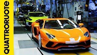 Визит на завод Ламборгини: как рождаются суперкары! Lamborghini