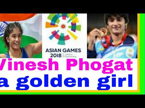 First Gold For Women's Wrestling In Asian Game In 2018