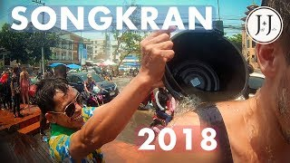 BEST SONGKRAN VIDEO 2018 / Thai New Year Water Festival สงกรานต์ | Chiang Mai - Vlog #49