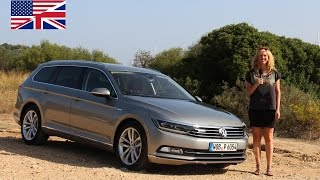 2014 VW Passat Variant TDI 4MOTION - Start Up, Exhaust, Test Drive and In-Depth Car Review (English)