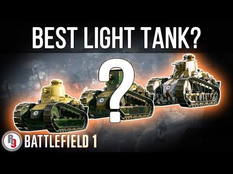 Best Light Tank variant? - Battlefield 1