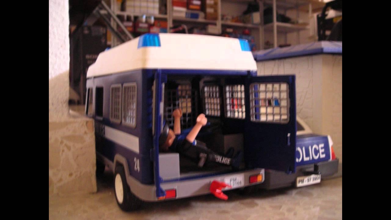 Pelicula playmobil policia Psicopatas en el parque  YouTube