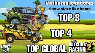 TOP 4 GLOBAL NA TEMPORADA   Hill Climb Racing 2