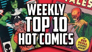 A Tribute To Stan Lee - Hot Top 10 Comic Books On The Rise - NOV (Week 3) 2018