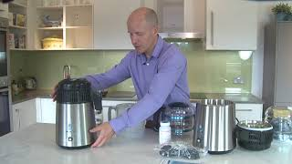 How to setup & use the Megahome Water Distiller Resimi