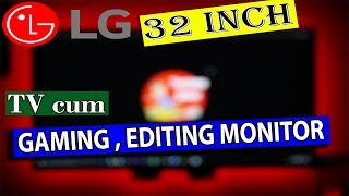 Best LED LCD Monitor for gaming and editing LG 32MN58H Techno Baaz