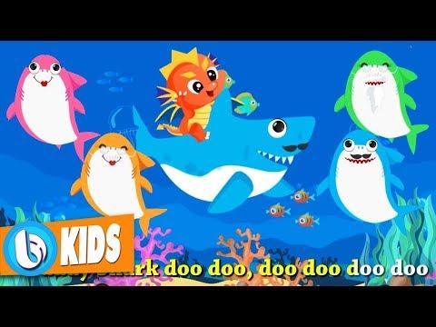 Baby Shark Doo Doo + More Nursery Rhymes | Nhạc Tiếng Anh Trẻ Em (4K)