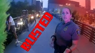 Police Officer Abusing Her Power