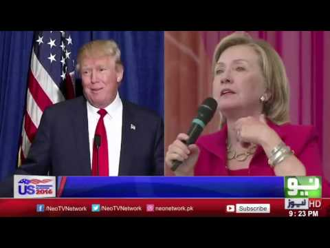 America Elections 2016   Hillary Clinton Leads On Trumph   LIVE