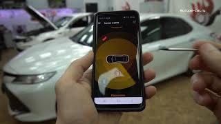 видео обзор автосигнализации Pandect X-1900 BT и приложения для телефона Pandora