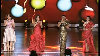 "Angel Pieters, Citra Scholastika, Novita Dewi, Regina ""Gita Sorga Bergema"" / ""Hark The Angels Sings"""