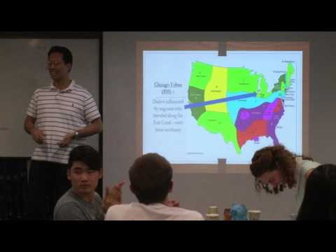 """Do you speak American?"" by Peter Kim (Seoul Toastmasters Club VP Public Relations)"
