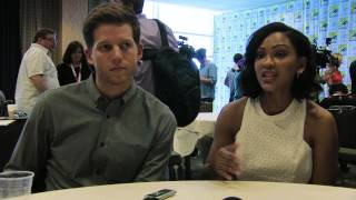 Meagan Good & Stark Sands Minority Report Comic Con Interview