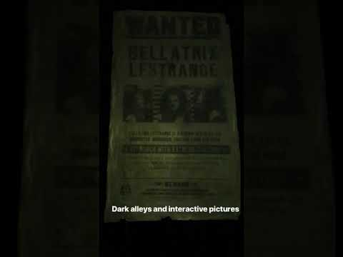 Bellatrix Lestrange Magical Wanted Sign