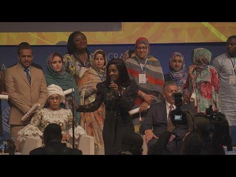 euronews (en français): La jeunesse africaine à l'honneur au Forum de Crans Montana à Dakhla