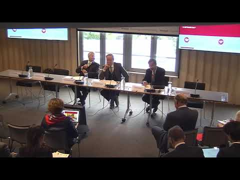 EU-China economic relations: looking to 2025 - Session 1