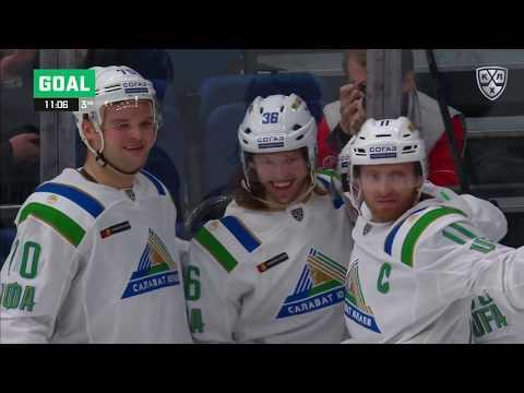 Salavat Yulaev 4 Spartak 2, 24 September 2019