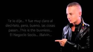 J Balvin Yo Te Lo DiJe  Letra