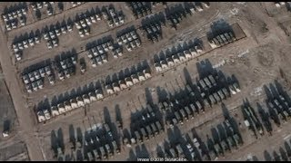 Build-up Of Russian Troops Near Ukraine. Satellite Images Of New Russian Military Bases.