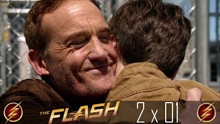 The Flash 2x01: Henry Allen Gets Out Of Jail