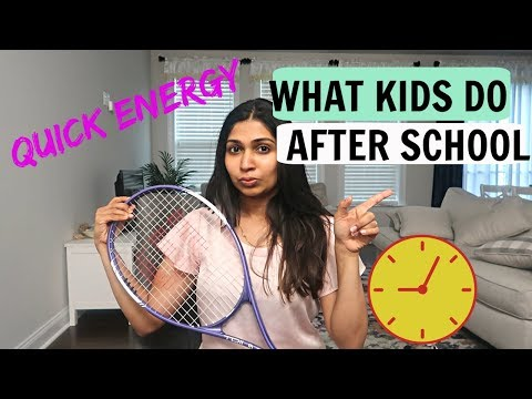 After School Activities For Kids/After School Snacks