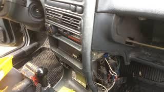 Замена печки (радиатора) на ВАЗ 2114 за 15 мин