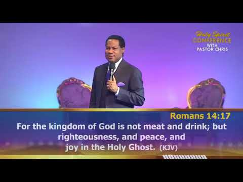 Pastor Chris -- Discover Three Expressions of Joy in this 'Holy Spirit Conference' Excerpt