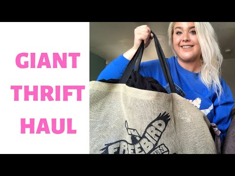 GIANT Collective Thrift / Goodwill Outlet Haul to Flip Online!!