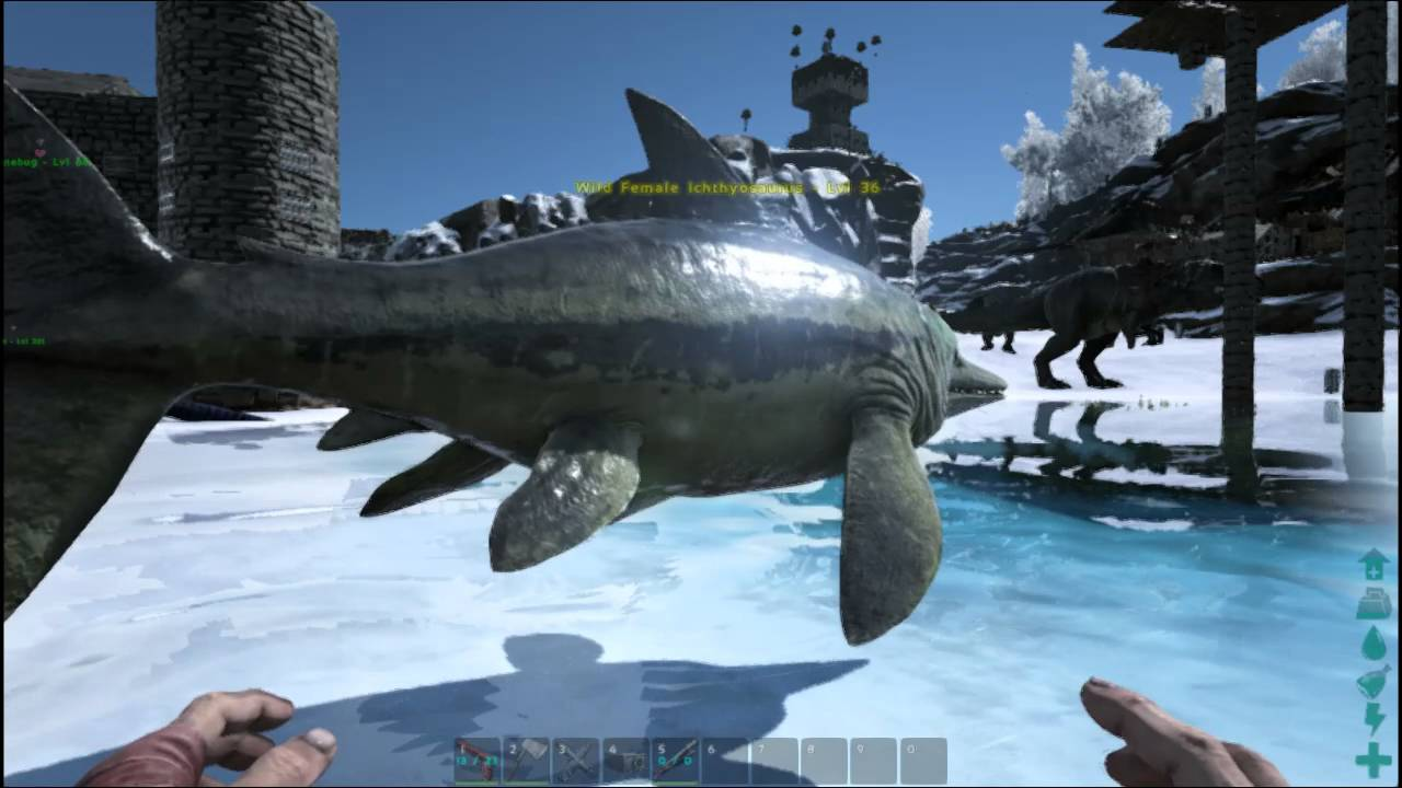 How to summon any level dinosaur in your ark survival server youtube malvernweather Gallery