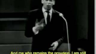 Jacques Brel - Les Bourgeois [1962] English SUB