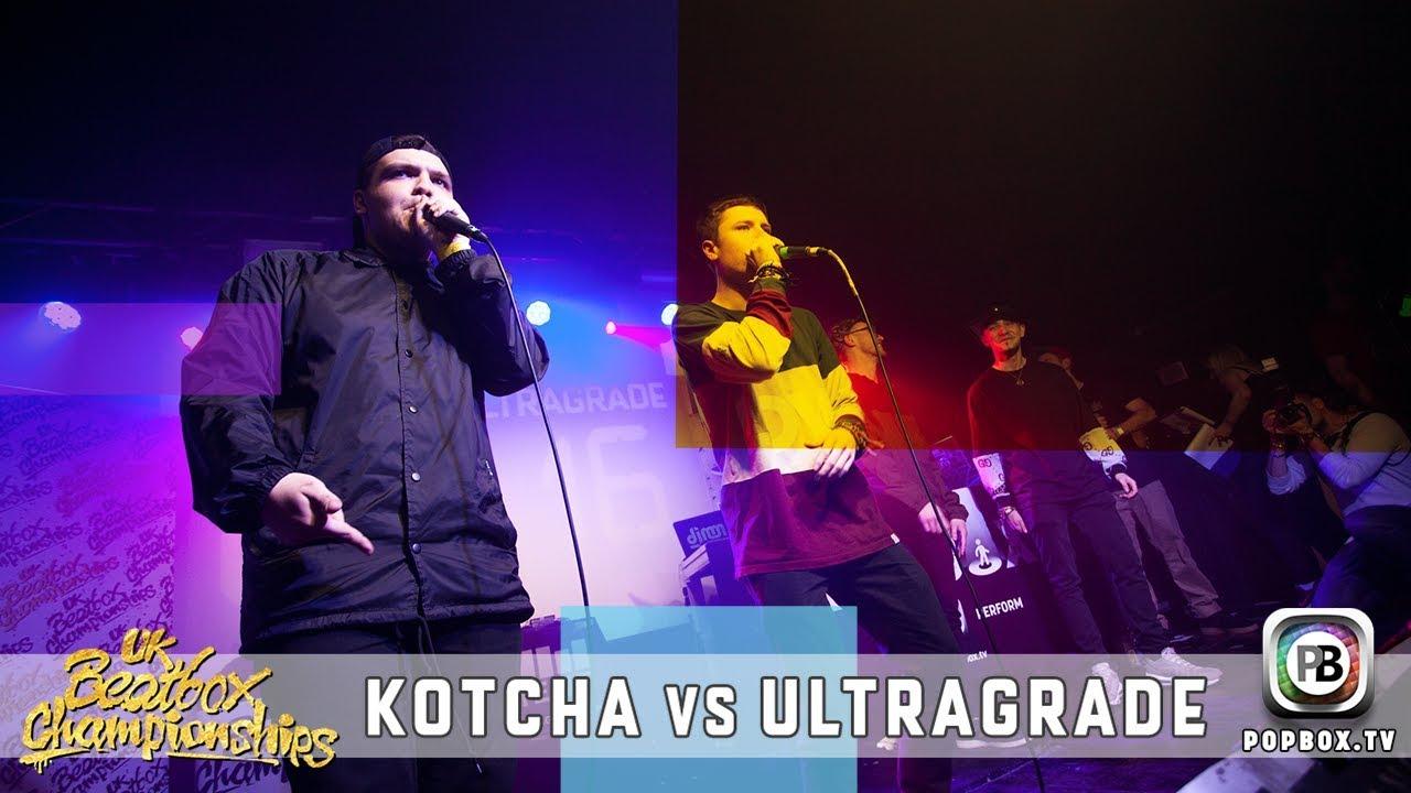 Kotcha vs Ultragrade   Team Semi Final   2017 UK Beatbox Championships