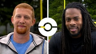 Pokémon Life Lessons with Trainers Richard Sherman and Johnny Hekker!