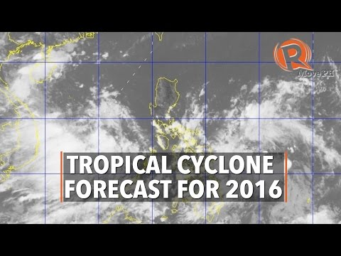 Tropical Cyclone Forecast for 2016