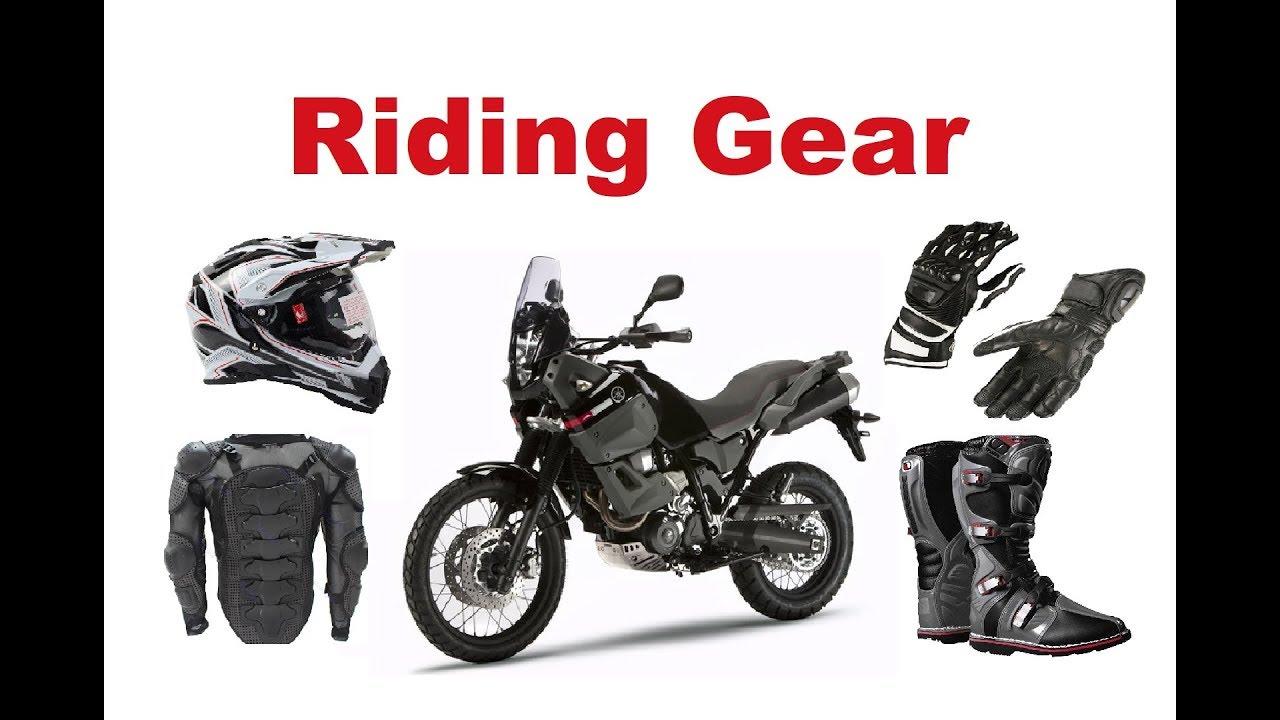 8c355ca18a4 Motorcycle Riding Gear - Do I really need it  - YouTube