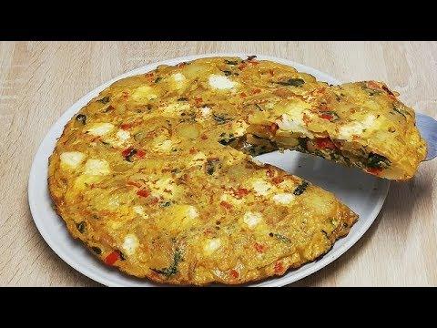 tortilla-faÇon-quiche-sans-pÂte-Économique-et-facile-(cuisine-rapide)