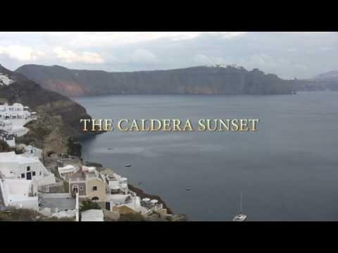 The Caldera Sunset - Santorini