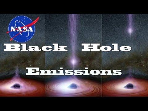 NASA witnesses Something Emerge from a Black Hole