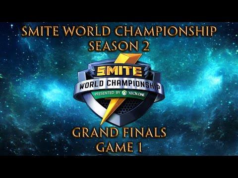 Smite World Championship 2016 - Grand Finals (Game 1 of 5)