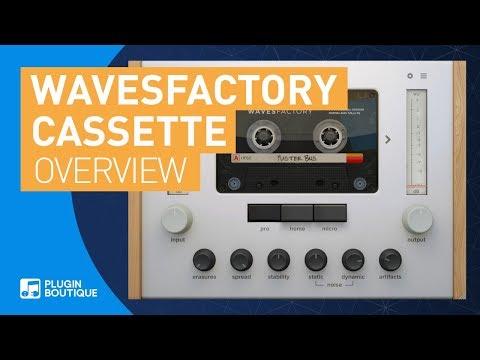 Cassette by Wavesfactory | Realistic Cassette Tape VST Plugin