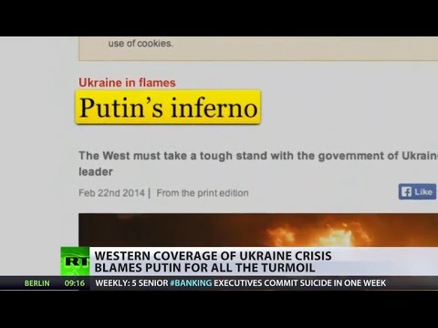 US supports Ukraine turmoil though media blame Putin for chaos
