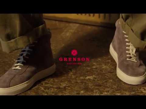 Grenson Women's Sneaker 6 - YouTube