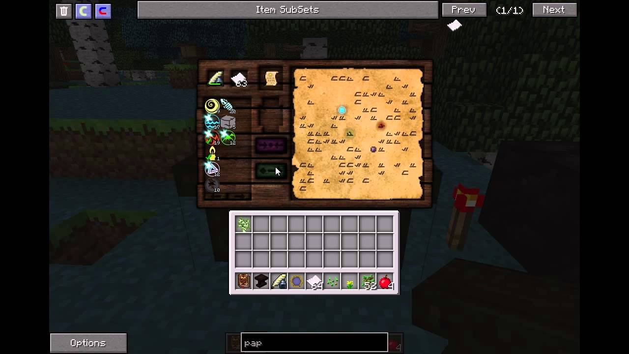 Advance Crafting Table