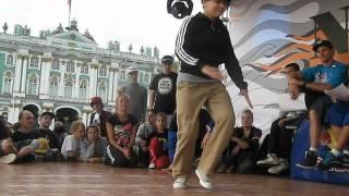 b-girl SOVA (EXTREME BREAK BATTLE 26.08.12) СПб