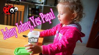 Melissa si Zaharul/Johny Johny Yes Papa /Video Amuzant pentru Copii